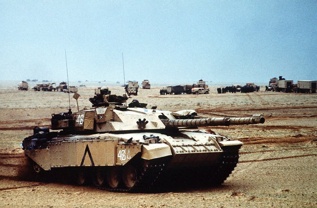 What is a Challenger tank and what does it do?