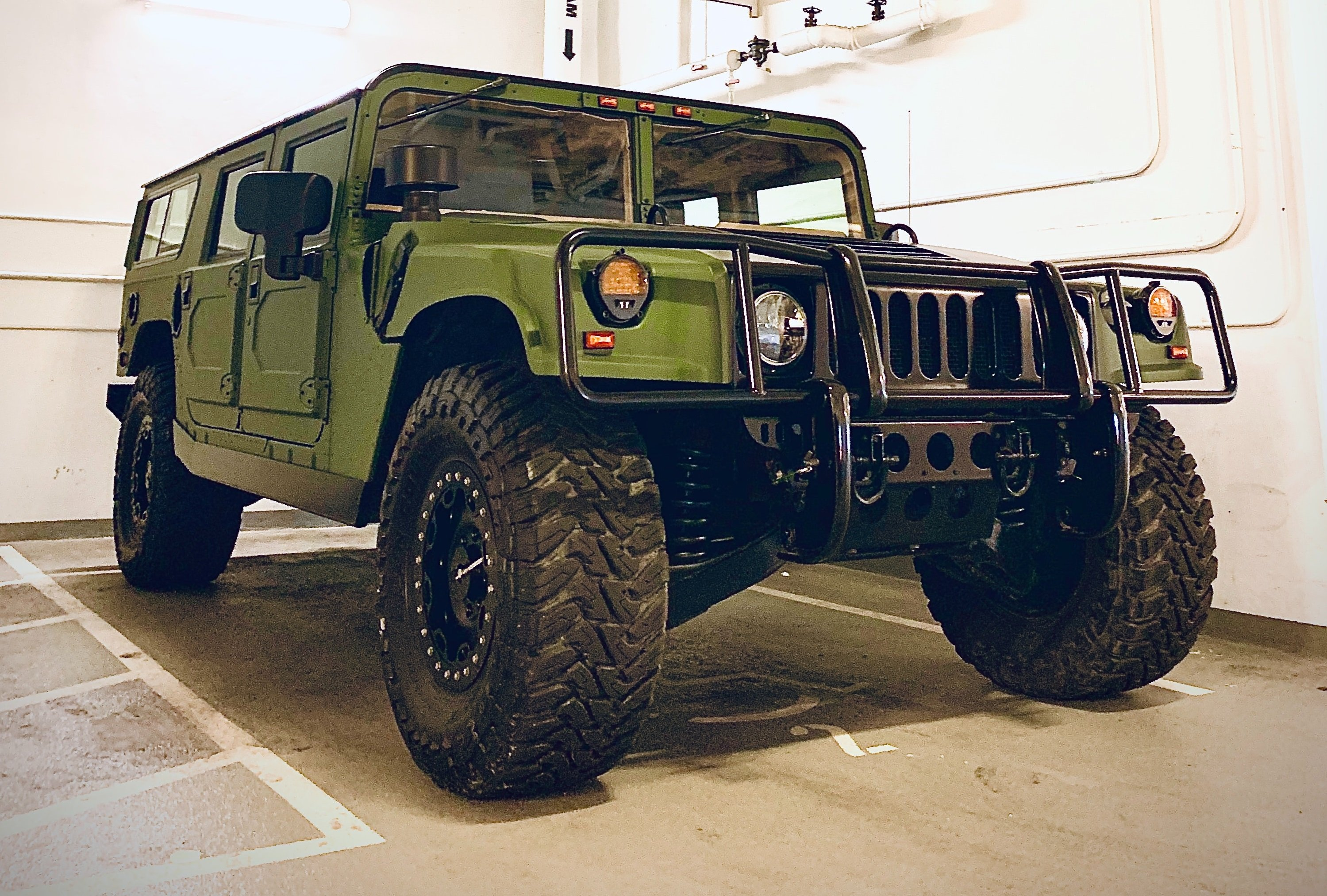 What is a Humvee and what does it do?